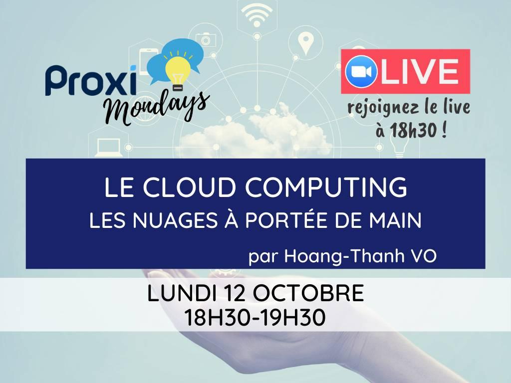 Le cloud computing - Proxi Mondays - Proxiad