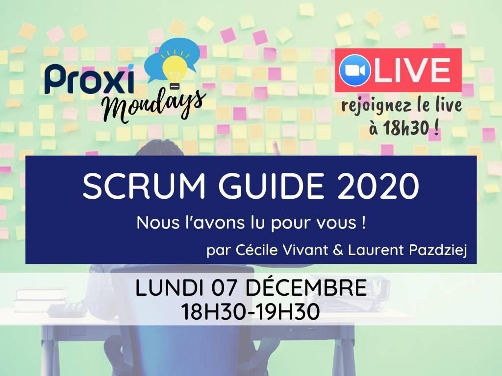 Scrum guide 2020 - Proxi Monday - Proxiad